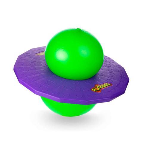 Imagem de Brinquedo Clássico Pogobol Estrela Roxo e Verde 6+