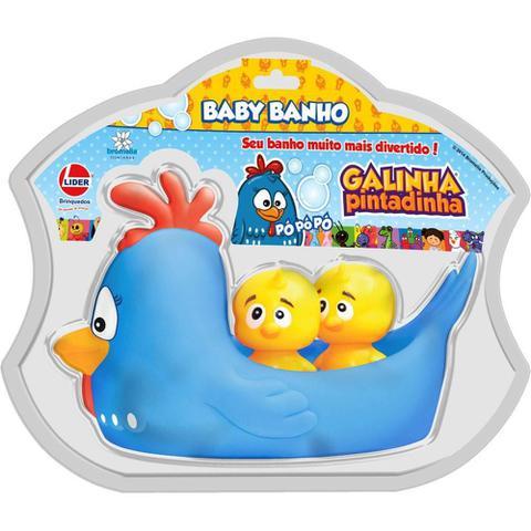 Imagem de Brinquedo de Banho - Galinha Pintadinha - Líder