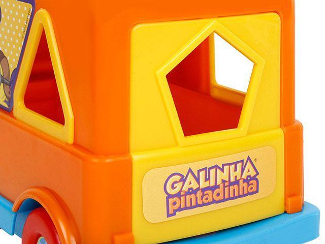 Imagem de Brinquedo de Encaixar Galinha Pintadinha