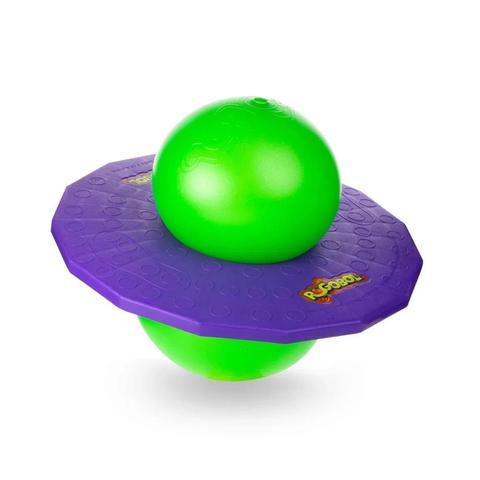 Imagem de Brinquedo de Pular Pogobol Roxo e Verde Original Estrela