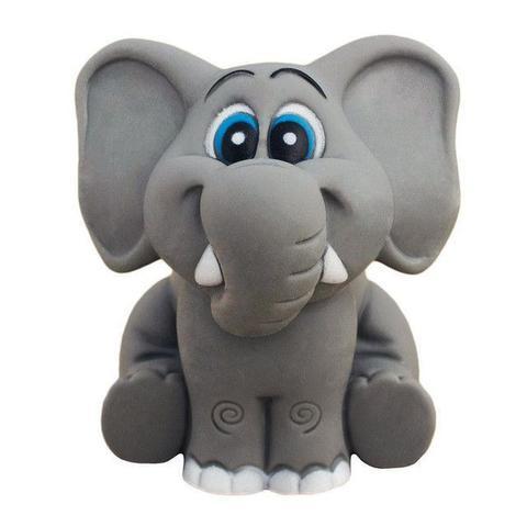 Imagem de Brinquedo De Vinil Para Bebê A Partir De 3 Meses - Elefante