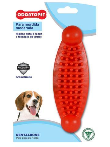 Imagem de Brinquedo Dental Bone Massageador Cães Mordida Moderada até 15 Kg Odontopet