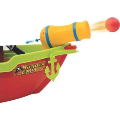Imagem de Brinquedo Didático Educativo Barco Aventura Pirata +3 Anos