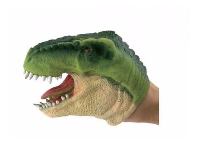 Imagem de Brinquedo Dinossauro Jurassic Dino Fantoche De Mão Dtc 3731
