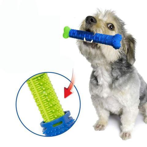 Imagem de Brinquedo Escova para Limpeza de Dentes de Cachorro Anti-Tártaro