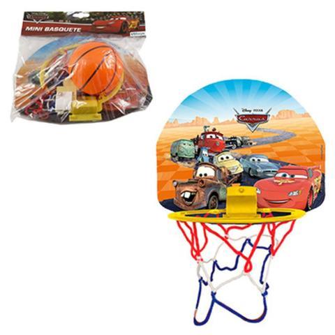 Imagem de Brinquedo Etitoys Mini Basquete Bola Tabela Carros