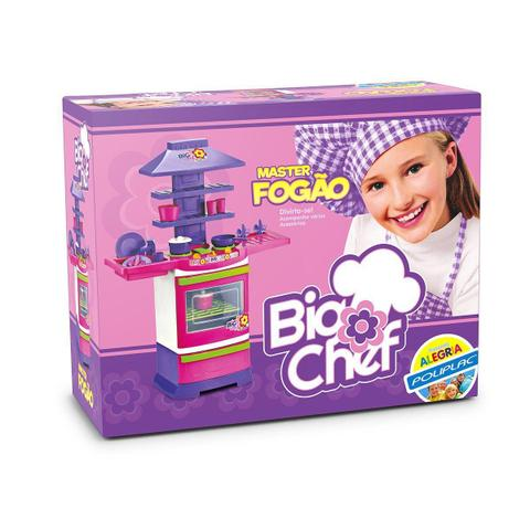 Imagem de Brinquedo Infantil Master Fogão Big Chef - Poliplac