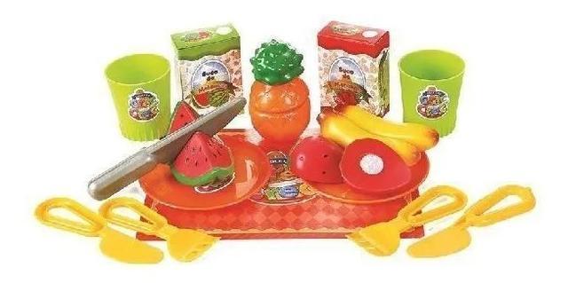 Imagem de Brinquedo Infantil Salada De Frutas Mercadinho De Boneca