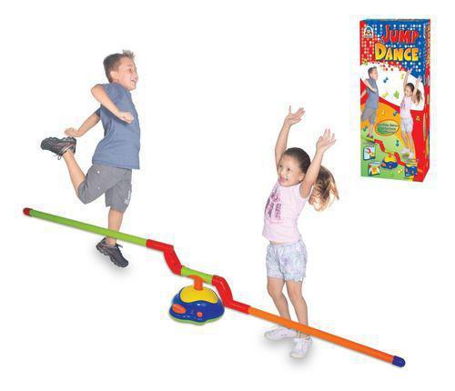Imagem de Brinquedo Jump Dance Jogo Barra De Pular Automático Braskit