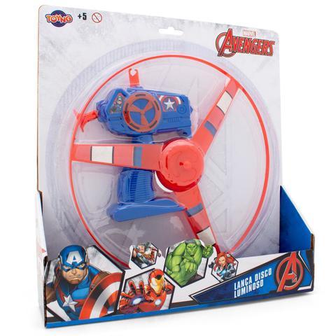 Imagem de Brinquedo Lança Disco Luminoso Avengers Toyng