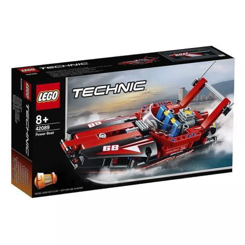 Imagem de Brinquedo Lego Techinic Super Barco a Motor 174 Peças 42089