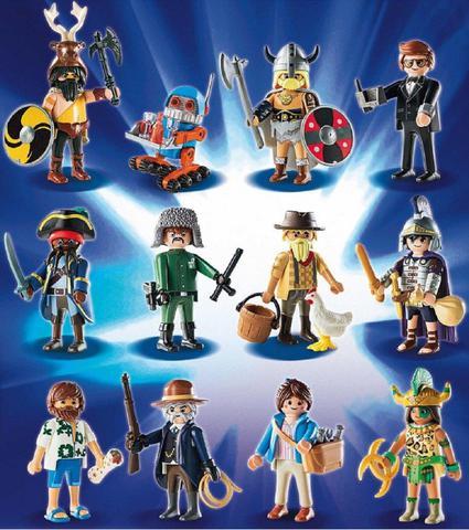 Imagem de Brinquedo Mini Figura Surpresa Playmobil O Filme Sunny 70069