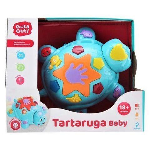 Imagem de Brinquedo Musical Dancing Dog + Tartaruga Bate Volta c/ Luz