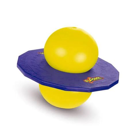 Imagem de Brinquedo Novo POGOBOL Roxo e Amarelo - Estrela
