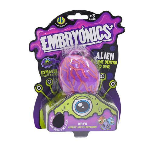 Imagem de Brinquedo Ovo Alien com Slime Embryonics Surpresa Dtc 5042