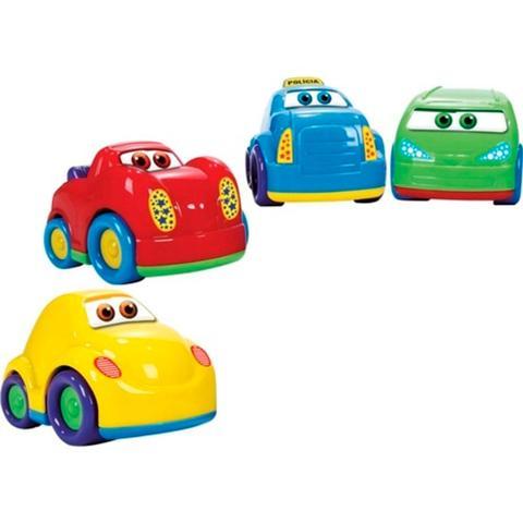 Imagem de Brinquedo Para Bebê Baby Cars Sortidos Com 4 Carrinhos 18m+