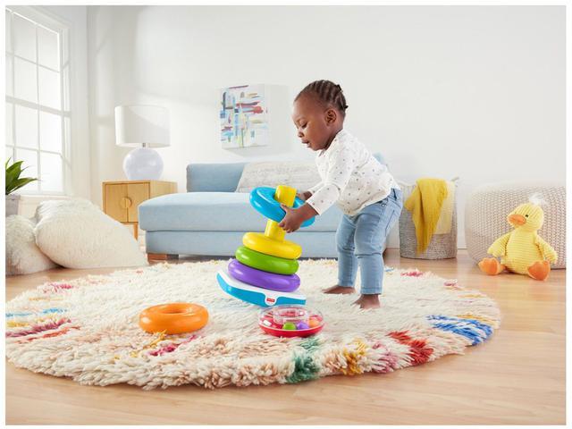 Imagem de Brinquedo para Bebê Pirâmide de Argolas Gigante