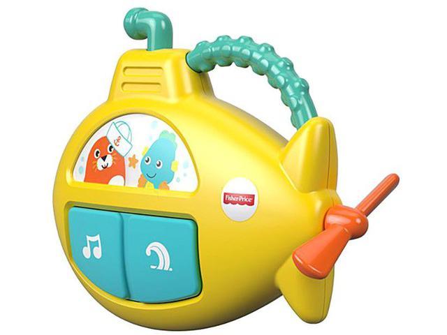 Imagem de Brinquedo para Bebê Plush & Toys Submarino Musical