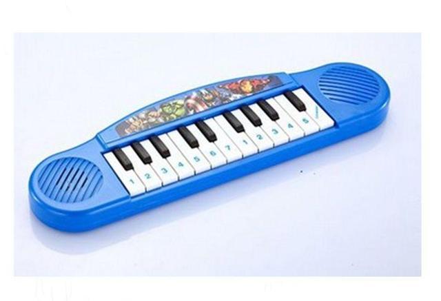 Imagem de Brinquedo Piano Musical Infantil Avengers Marvel