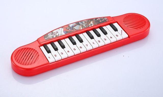 Imagem de Brinquedo Piano Musical Infantil Homem Aranha
