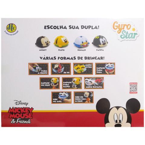 Imagem de Brinquedo Pião Giro Star Pista Combate Disney Turma Mickey
