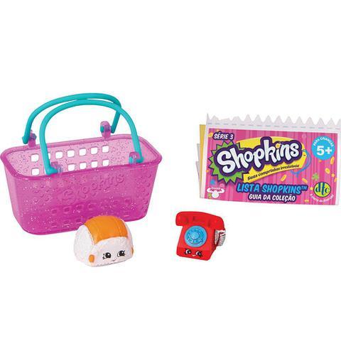 Imagem de Brinquedo Shopkins Pack Cestinha ou Caixote Sortido Dtc 3580
