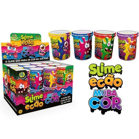 Imagem de Brinquedo Slime Ecao Muda de Cor 110g Aleatório Dtc 5056