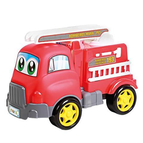 Imagem de Brinquedo Turbo Truck Bombeiros Maral 4134
