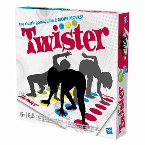 Imagem de Brinquedo Twister Novos Movimentos Hasbro Vira Vc Do Avesso
