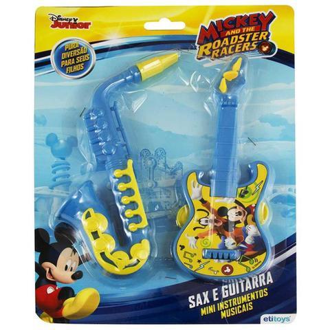 Imagem de Brinquedos Etitoys Kit Guitarra e Saxofone do Mickey