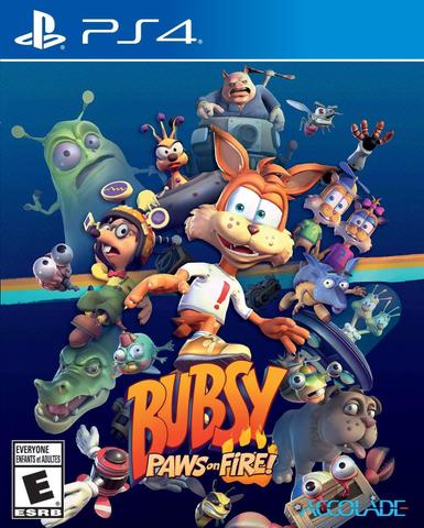 Jogo Bubsy Paws On Fire - Playstation 4 - Accolade