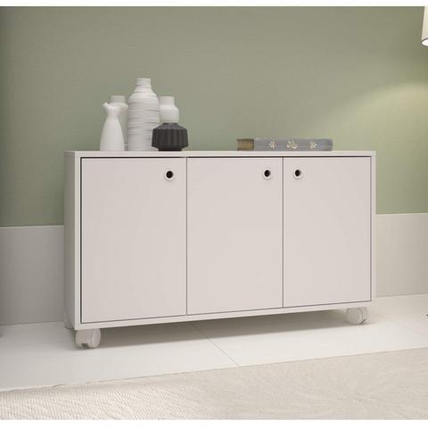Imagem de Buffet 3 Portas BHO 25 BRV Móveis Branco