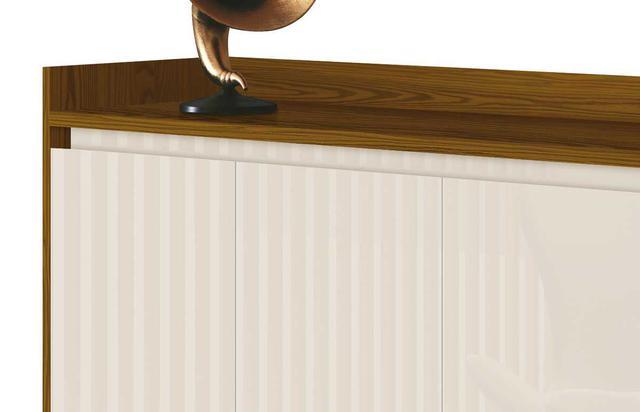 Imagem de Buffet Aparador Retrô Clássico Freijó com OffWhite - MoveisAqui