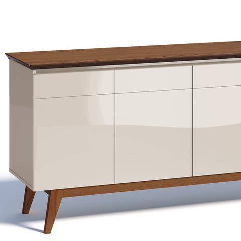 Imagem de Buffet Classic 4 Portas Off White/ Freijó - Imcal