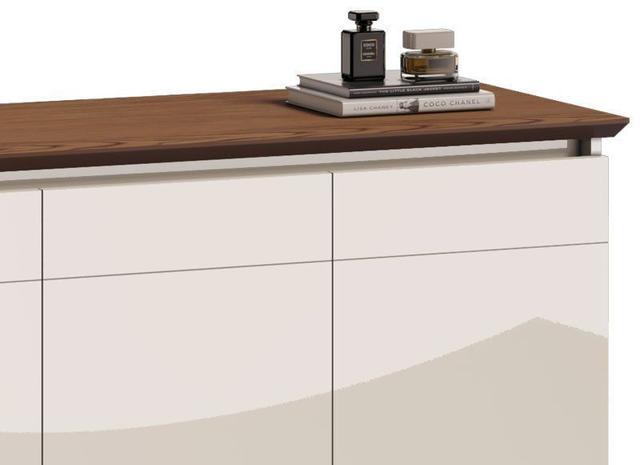 Imagem de Buffet Classic Off White com Freijó - Imcal Móveis