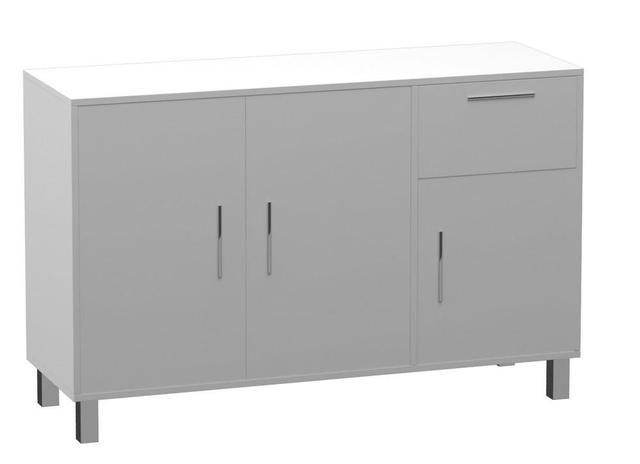 Imagem de Buffet Modern 3 Portas Branco