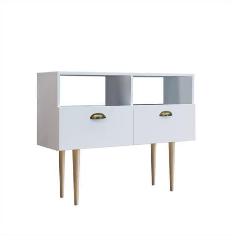 Imagem de Buffet Para Sala De Jantar Estilare Paris Brm4 Com 2 Portas Branco
