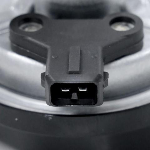 Imagem de Buzina Elétrica Automotiva Kbc 9 Hc Tom Agudo Modelo Caracol 12V Sem Relê