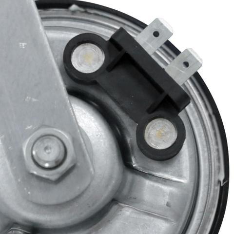 Imagem de Buzina Elétrica Automotiva Kbc 9 Lc Tom Grave Modelo Caracol 12V Sem Relê