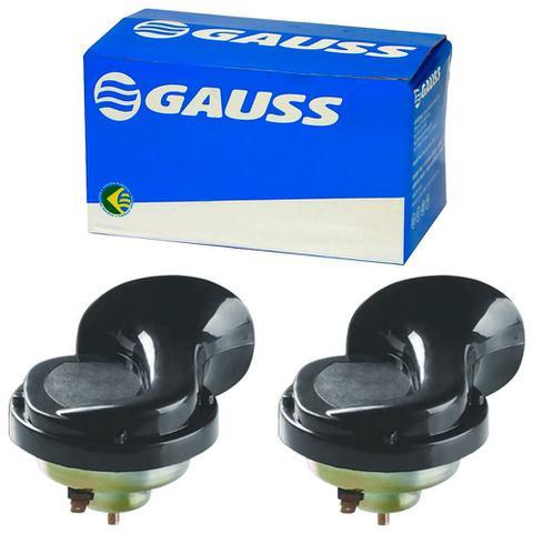 Imagem de Buzina Elétrica Universal Caracol Grave e Agudo GB1053 12v 90mm 1 Terminal Gauss