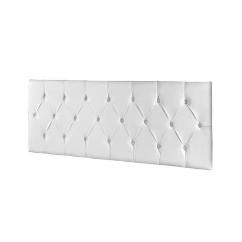 Imagem de Cabeceira Estofada Box Casal 140 cm Braco com Mesa de Cabeceira Alice Jequitiba com Off White  - E E Móveis