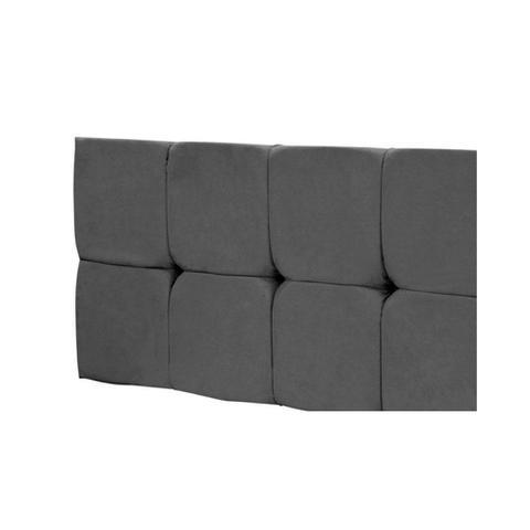 Imagem de Cabeceira Painel Nina para Cama Box de 140 cm Cinza - Jm Estofados
