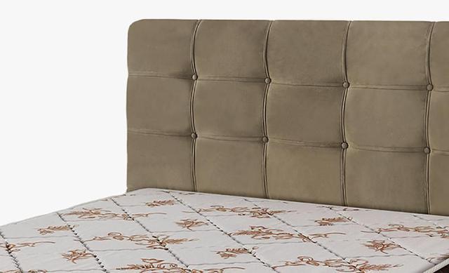 Imagem de Cabeceira Para Cama Box Casal Clean 1400mm - Suede Marrom Taupe - Simbal