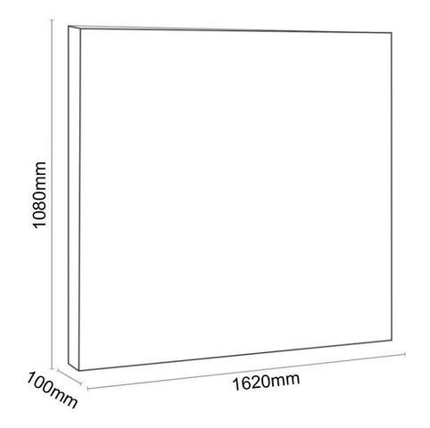 Imagem de Cabeceira Para Cama Box Queen Clean 1600mm Suede Cinza Escuro - Simbal