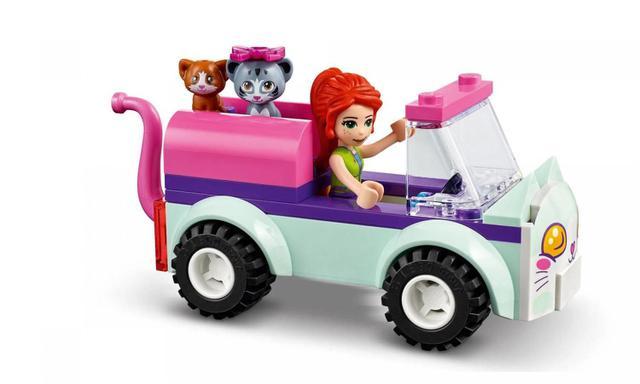 Imagem de Cabeleireiro Móvel para Gatos Lego Friends