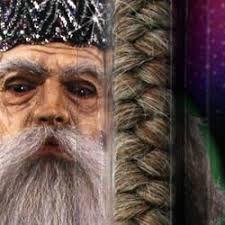Imagem de Cabelo crepe de lã para bigodes falsos e Pêlos faciais Castanho Claro