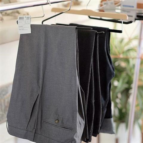 Imagem de Cabide Aberto p/ Calças e Vestidos em Aço Inox Revestido