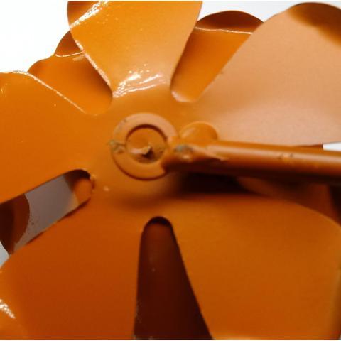 Imagem de Cabide de Porta Decorativo de Ferro com Flor Artesanal Moderna Quarto de Casal