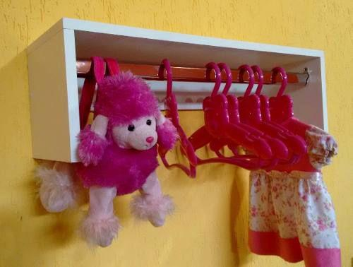 Imagem de Cabideiro De Parede Infantil / P/ Seu Pet /pet-shop 60x20x20