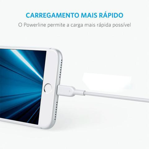 Imagem de Cabo Anker Powerline Micro USB 1,8 metros Branco